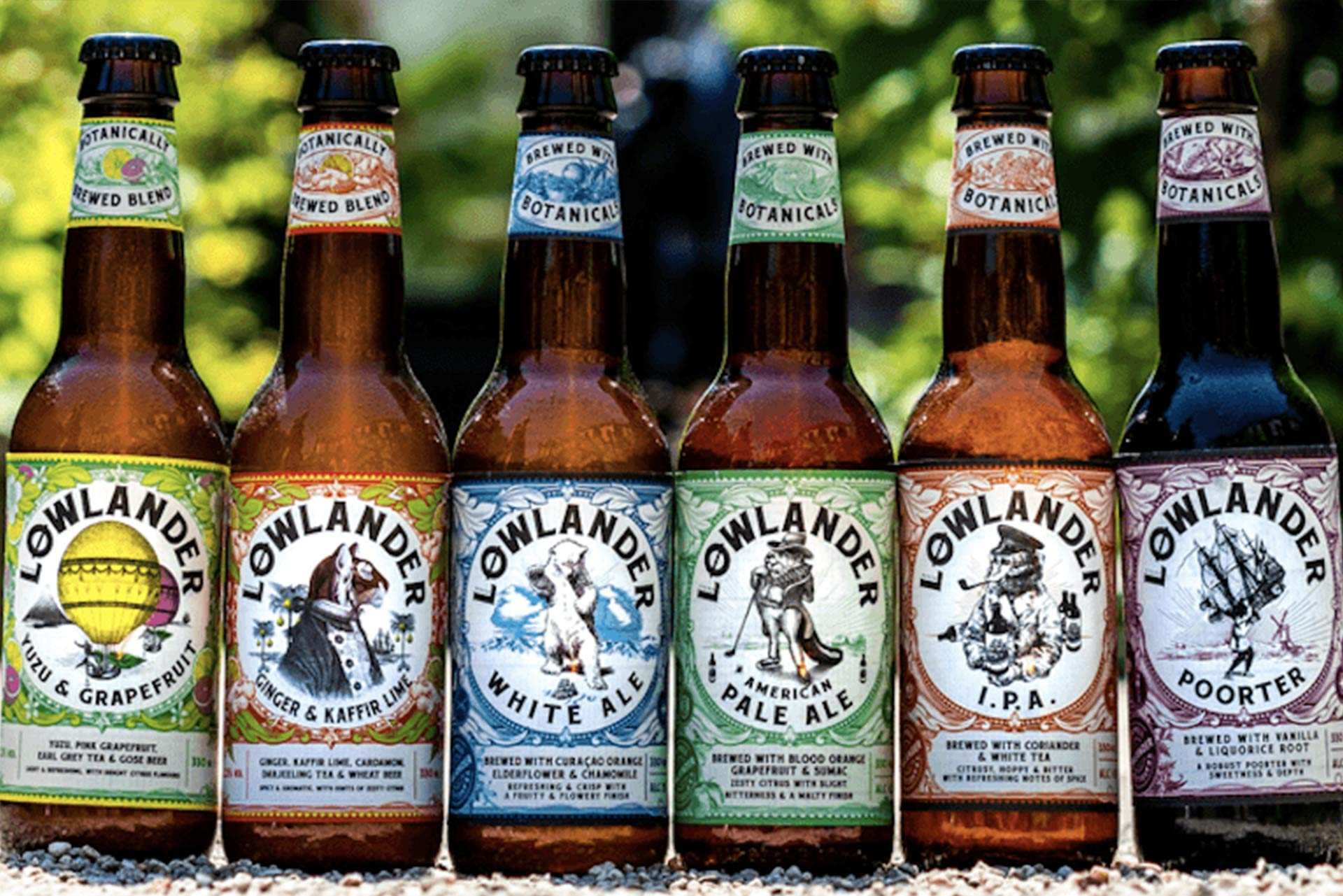 Lowlander Botanical Beer - Change of labels