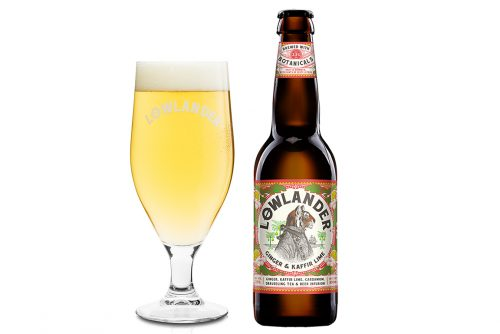 Lowlander Botanical Beers Ginger glass + bottle