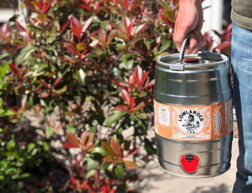Fresh draught at home: Lowlander Micro Kegs