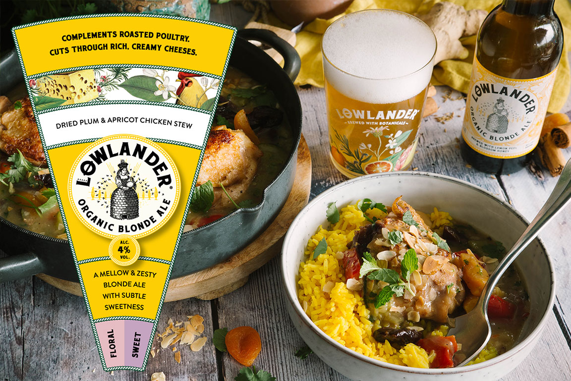 Lowlander launches Beer & food Pairing platform