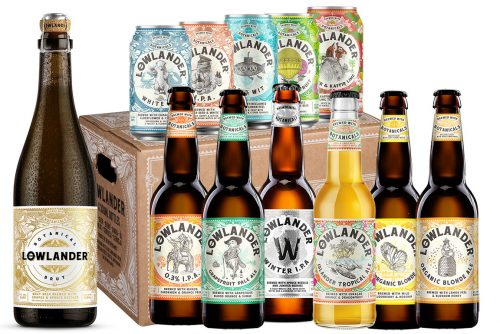 Lowlander Botanical Beers Ultimate Expedition 12 pack
