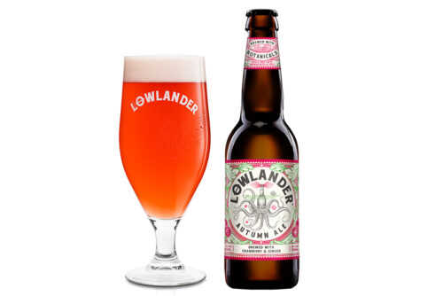 Lowlander Botanical Beers Autumn glass+ Bottle