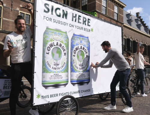 Lowlander campaigns to subsidise drinking of beer